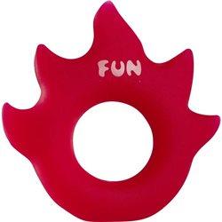 Pierścień FUN FACTORY Flame, czerwony