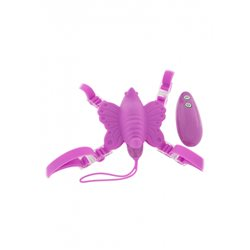 Vibe Therapy - Venus Butterfly Strap-on, różowy