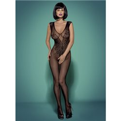 Bodystocking N112 czarne S/M/L