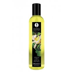 Shunga - Exotic Green Tea Organic Massage Oil 250 ml