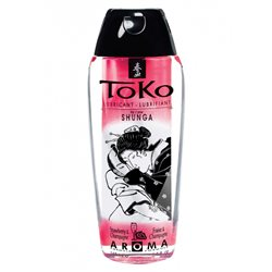 Shunga - Toko Lubricant Strawberry 165 ml