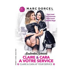Marc Dorcel DVD - Soubrettes services - Claire & Cara at your service