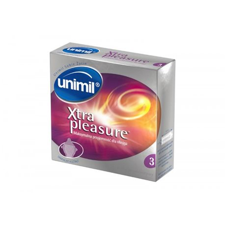Unimil Xtra Pleasure (1op./3szt.)
