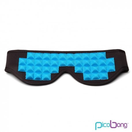 Picobong Opaska na oczy See No Evil Blindfold - niebieska