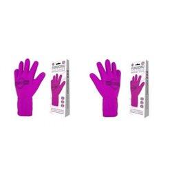 Fukuoku - rękawiczka do masażu S/ M (lewa różowa)