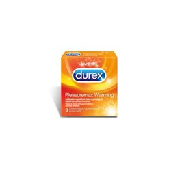 Prezerwatywy Durex Pleasuremax Warming  A3