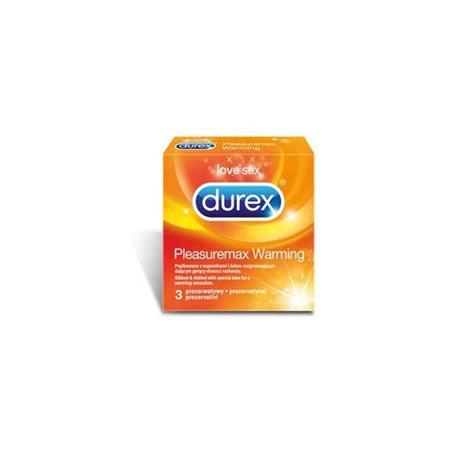 Prezerwatywy Durex Pleasuremax Warming  A3