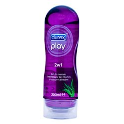 Durex - żel intymny do masażu Play 2w1 Fiolet aloes 200ml