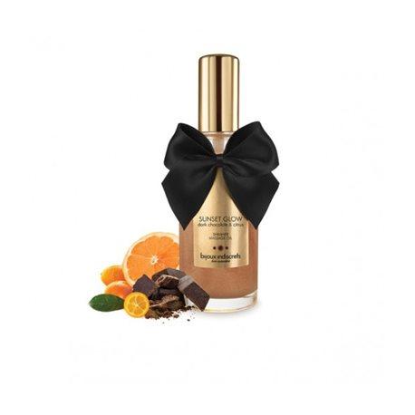 SUNSET GLOW - Dark Chocolate Shimmer Oil