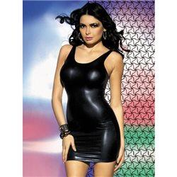 Obsessive Obsydian sukienka i stringi S/M