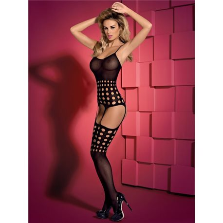 Bodystocking G310 czarny XL/XXL