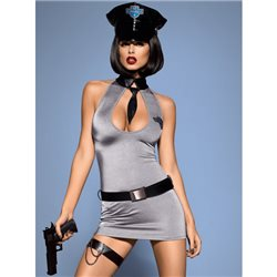 Police dress kostium L/XL