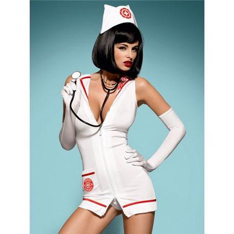 Emergency dress + stetoskop XXL