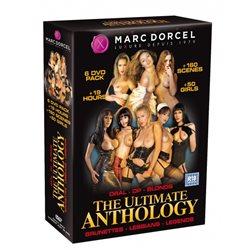 Marc Dorcel DVD - The ultimate anthology (6-pack)