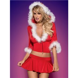 Obsessive Santa Lady skirty set komplet XXL