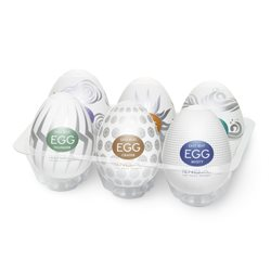 Tenga Eggs Hard Boiled - komplet 6 szt.