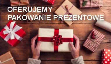 W naszym sklepie możesz zamówić pakowanie prezentowe!